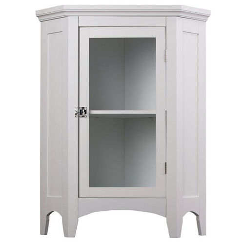 Our Madison Corner Floor Cabinet - White is on sale now.