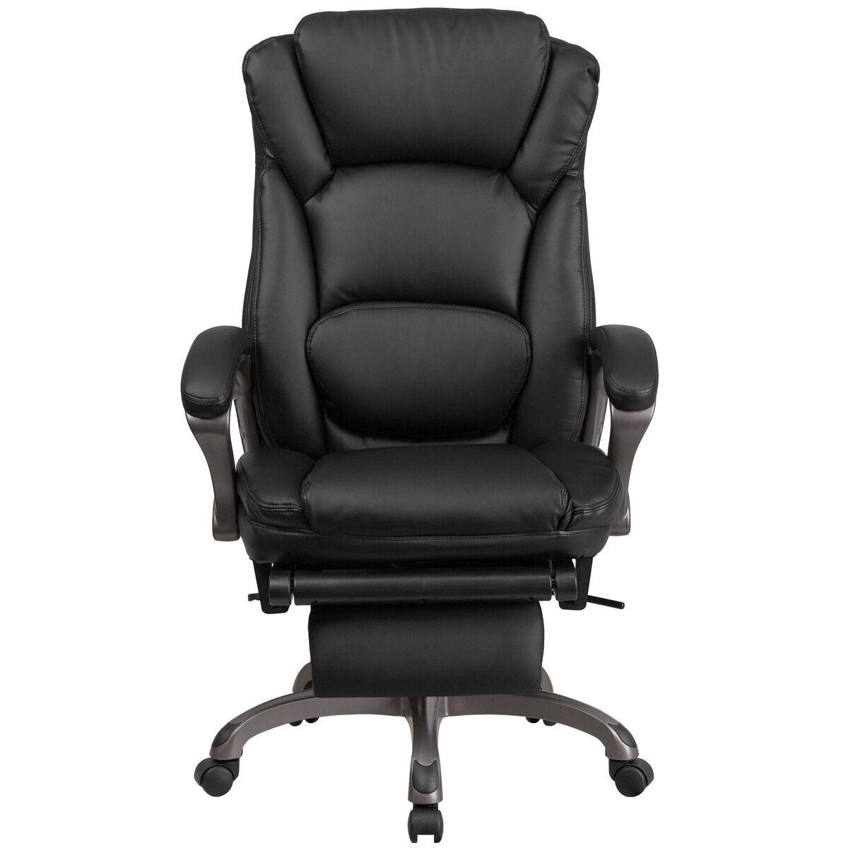 black reclining leather chair bt 90279h gg bizchair com