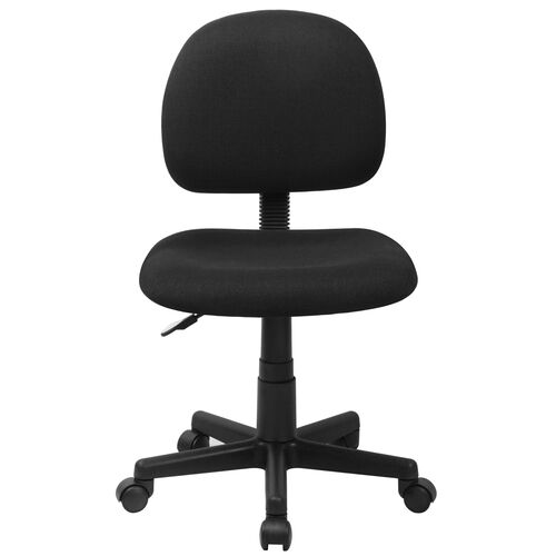 Our Basics Mid-Back Fabric Swivel Task Office Chair, Black is on sale now.