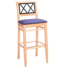 607 Bar Stool w/ Upholstered Seat - Grade 1