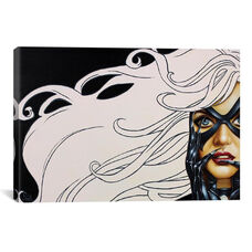 Black Cat by Scott Rohlfs Gallery Wrapped Canvas Artwork