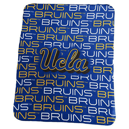 Our University of California - Los Angeles Team Logo Classic Fleece Throw is on sale now.