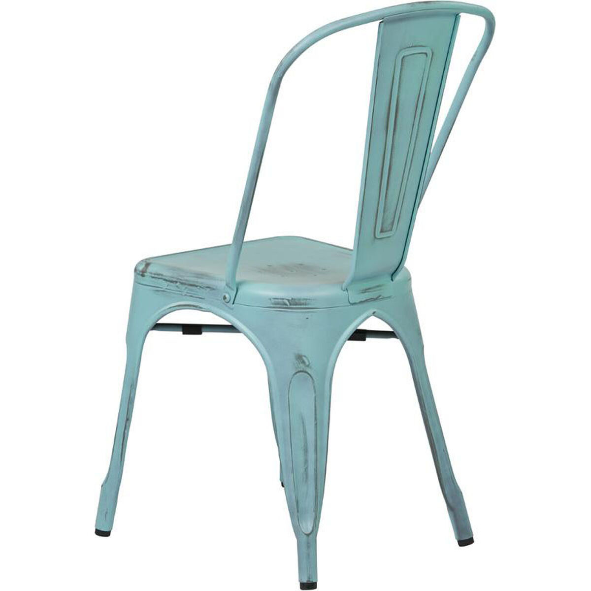 Set Of 4 Blue Stacking Chair Brw29a4 Asb Bizchair Com