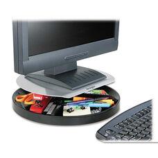 Kensington® Spin2 Monitor Stand - 14 x 14 x 3 1/4 - Black