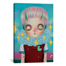 Children of this Planet Series: #26 by Hikari Shimoda Gallery Wrapped Canvas Artwork
