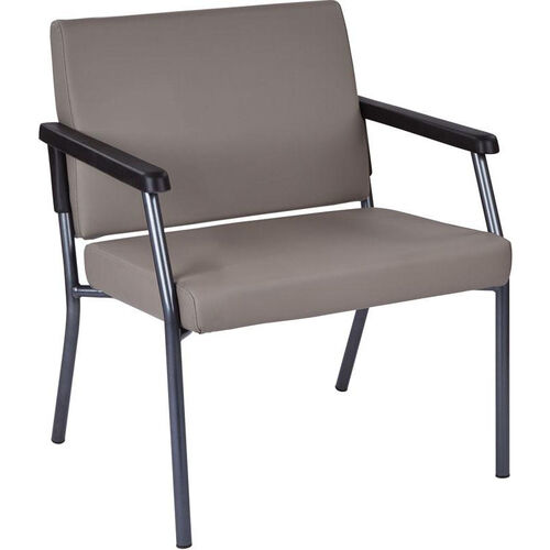 Our Work Smart Bariatric Big & Tall Guest Chair with 400 lb. Weight Capacity - Dillion Stratus Antimicrobial Vinyl is on sale now.
