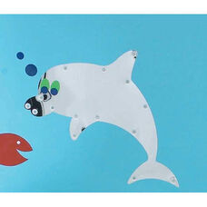 Sea Me Wall Hung Dolphin Mirror - 23