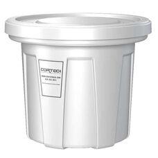 20 Gallon Cobra Food Grade/General Use Trash Can - White