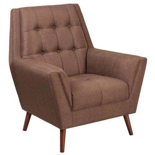 Our HERCULES Kensington Series Contemporary Brown Fabric Tufted Arm Chair is on sale now.