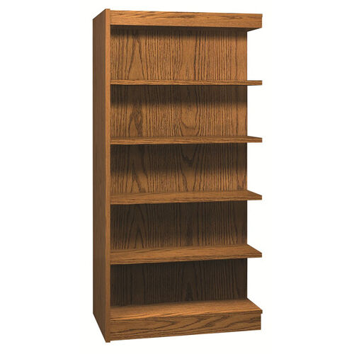5-Shelf Double Sided Bookcase Adder