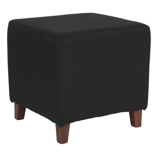 Our Ascalon Upholstered Ottoman Pouf in Black Fabric is on sale now.