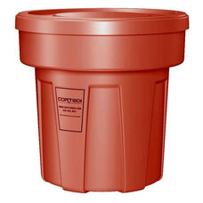 25 Gallon Cobra Food Grade/General Use Trash Can - Red