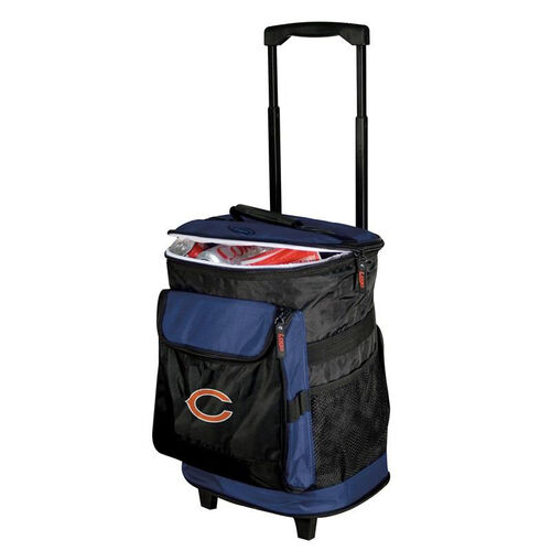 Our Chicago Bears Team Logo Rolling Cooler is on sale now.