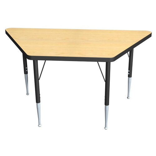 Our Trapezoid Activity Table with Laminate Top and Adjustable Legs is on sale now.