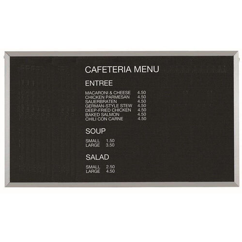 Our Framed Letter Board Message Center with Aluminum Frame - 36