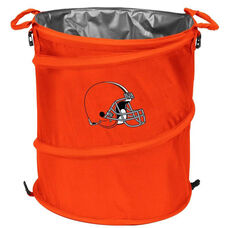 Cleveland Browns Team Logo Collapsible 3-in-1 Cooler Hamper Wastebasket
