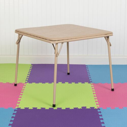 Kids Tan Folding Table