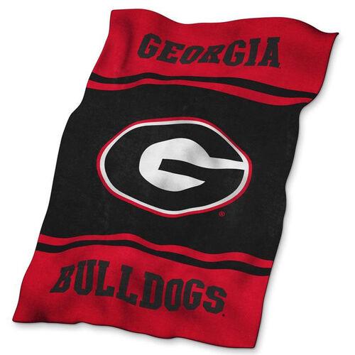 University of Georgia Team Logo Ultra Soft Blanket