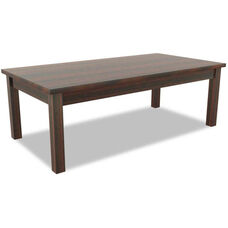 Alera® Valencia Series Rectangular Occasional Table - 47.25