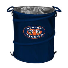Auburn University Team Logo Collapsible 3-in-1 Cooler Hamper Wastebasket