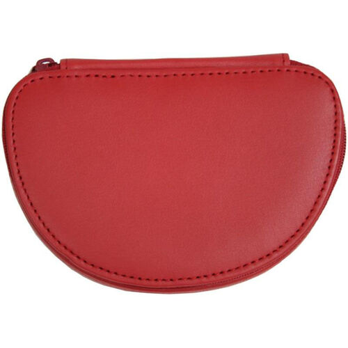 Our Mini Jewelry Case - Top Grain Nappa Leather - Red is on sale now.