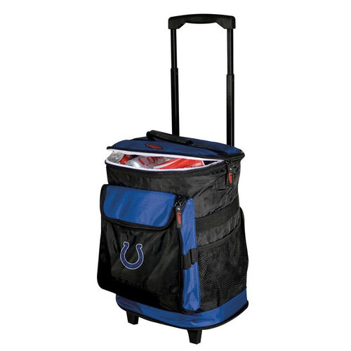 Our Indianapolis Colts Team Logo Rolling Cooler is on sale now.
