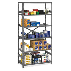 Tennsco Commercial Shelf - 6 Shelves - 24