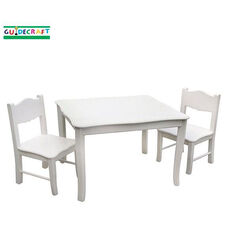 Classic White Collection Table and Chairs