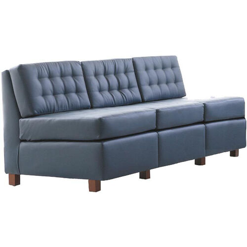 Our Quick Ship Himalaya Three-Seat Lounge Sofa with Wood Legs is on sale now.
