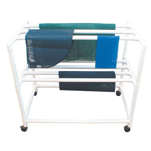 Mobile Drying Rack with 7 Drying Racks and Casters - 31