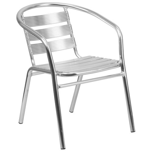 Our Heavy Duty Commercial Aluminum Indoor-Outdoor Restaurant Stack Chair with Triple Slat Back is on sale now.