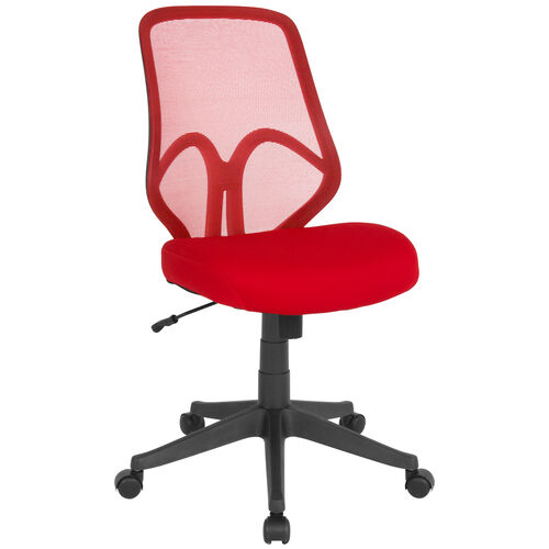Our Salerno Series High Back Red Mesh Office Chair is on sale now.