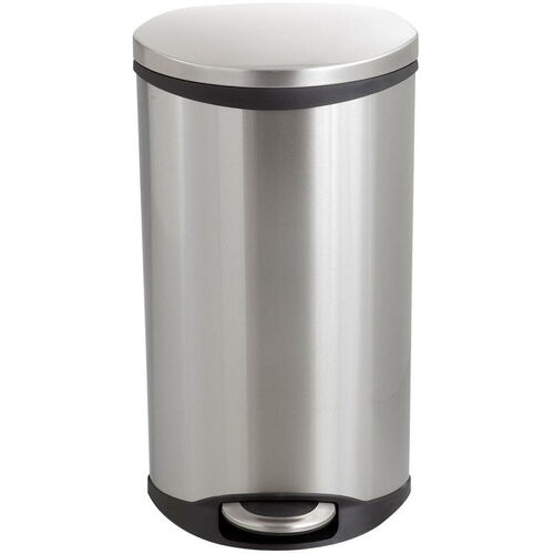 Our Ellipse 7.5 Gallon Step on Medical Trash Receptacle - Stainless Steel is on sale now.