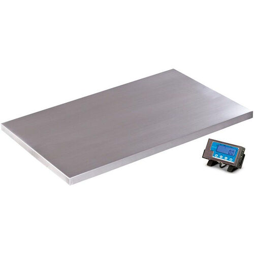 Our 500lb Capacity Floor Scale with Stainless Steel Platform - 42