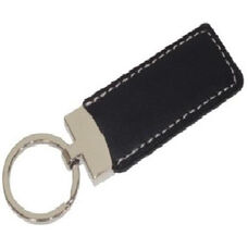 Presidential Key Fob - Genuine Leather - Black