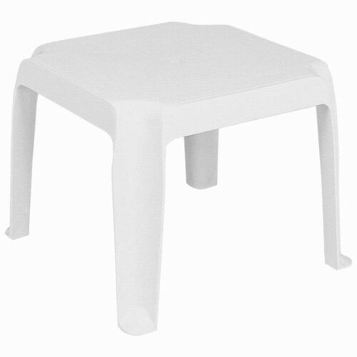Our Sunray Outdoor Resin Stackable Square Side Table - White is on sale now.