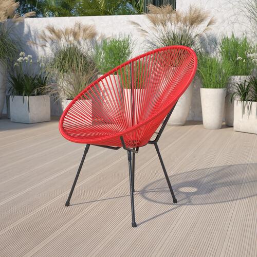 Valencia Oval Comfort Series Take Ten Rattan Lounge Chair