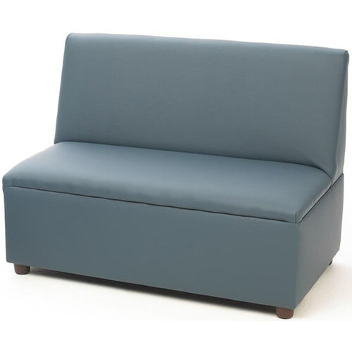 Our Just Like Home Modern Casual Enviro-Child Sofa - Blue - 35