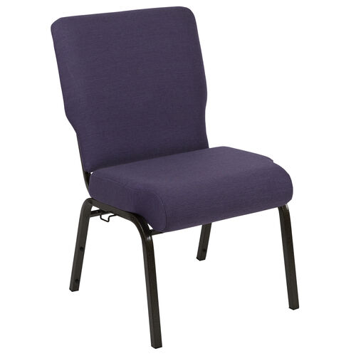 Our Advantage 20.5 in. Royal Purple Molded Foam Church Chair with Book Rack is on sale now.