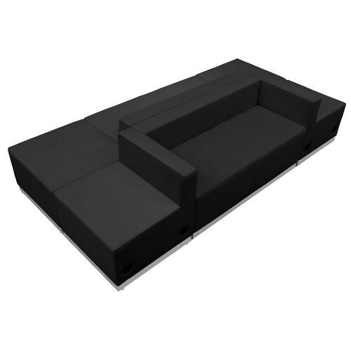 HERCULES Alon Series LeatherSoft Reception Configuration, 6 Pieces