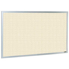 800 Series Type CO Aluminum Frame Tackboard - Fabricork - 96