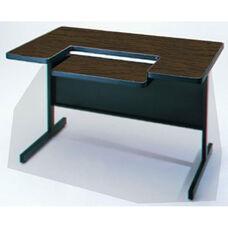 Customizable Series 4000 Single Bar Leg Workstation - 24