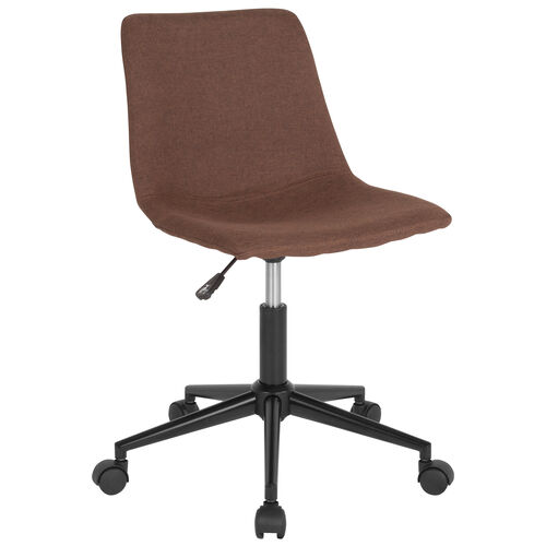 Our Siena Home and Office Armless Task Office Chair with Double Line Stitch Detail is on sale now.