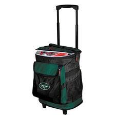 New York Jets Team Logo Rolling Cooler