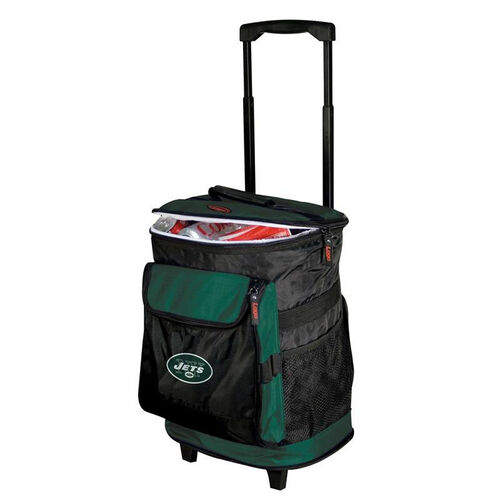 Our New York Jets Team Logo Rolling Cooler is on sale now.