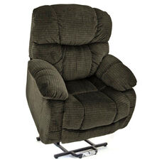 Reclining Sleeper Power Lift Chair with Backlit Hand Control - Cabo Sage Fabric