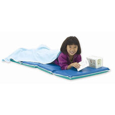 Vinyl 2'' Thick Foldable Heavy-Duty Rest Mat - Blue and Teal