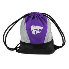 Kansas State University Team Logo Spring Drawstring Backsack