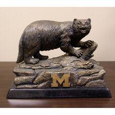 Michigan Wolverines Tim Wolfe Sculpture