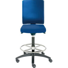 Adjust Tall Height Swivel Stool with Poly Outer Shell